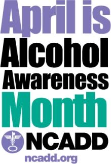 Alcohol Awareness Month Logo